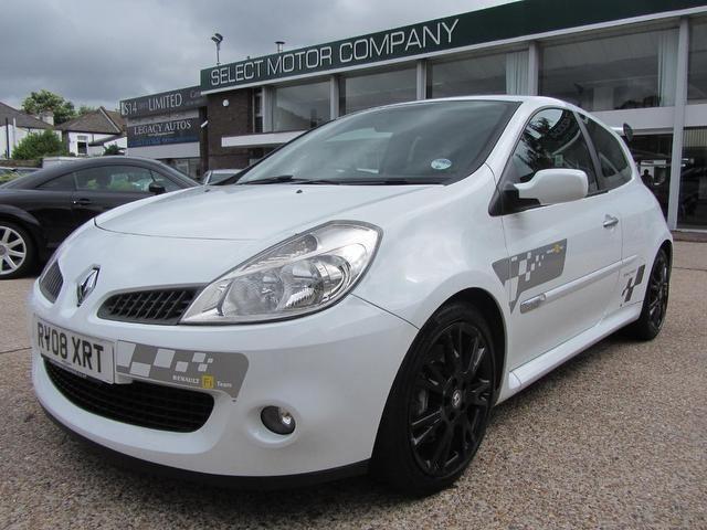 Used Renault Clio 2008 White Hatchback Petrol Manual for Sale