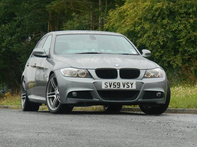 Used Grey Bmw 3 Series 2009 Petrol 320i M Sport Saloon In Great ...