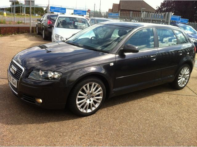 used audi a3 2005 automatic petrol 2 0 t fsi sport grey for sale uk autopazar. Black Bedroom Furniture Sets. Home Design Ideas
