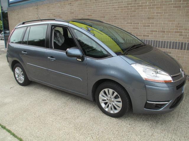 used citroen c4 car 2008 grey petrol grand picasso. Black Bedroom Furniture Sets. Home Design Ideas
