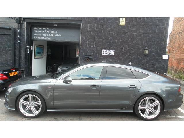 Used Audi A7 2012 Grey Hatchback Diesel Automatic for Sale