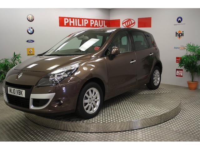 Used Renault Scenic 1.5 Dci 106 Privilege Estate Bronze 2010 Diesel for Sale in UK