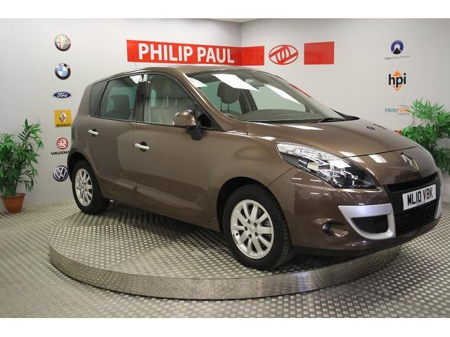 Used Renault Scenic 2010 Bronze Estate Diesel Manual for Sale