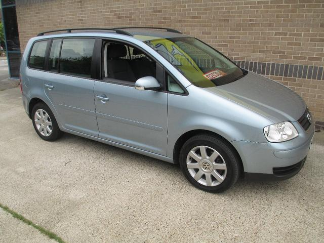 Cars For Sale Uk Norfolk: Used Volkswagen Touran Car 2006 Blue Diesel 1.9 Tdi Pd Se