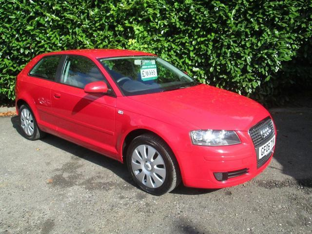 used audi a3 2006 petrol 1 6 special edition 3dr hatchback red for sale in southampton uk. Black Bedroom Furniture Sets. Home Design Ideas