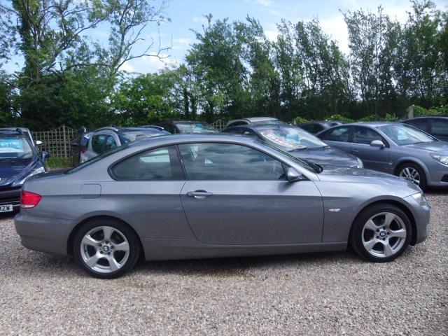 used 2007 bmw 3 series coupe grey edition 320i se 2dr petrol for sale in nuneaton uk autopazar. Black Bedroom Furniture Sets. Home Design Ideas