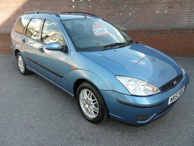 used ford focus 2002 petrol 1 6 lx 5dr estate blue edition for sale rh autopazar co uk owners manual for ford focus 2002 manual ford focus se 2002