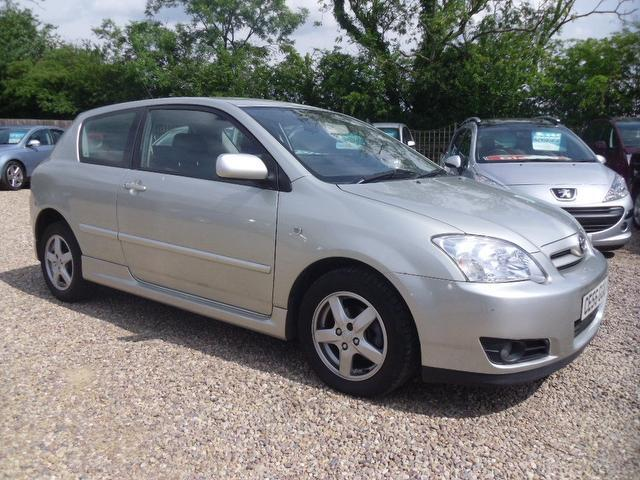 used toyota corolla 2006 manual petrol 1 4 vvt i colour collection silver for sale uk autopazar. Black Bedroom Furniture Sets. Home Design Ideas