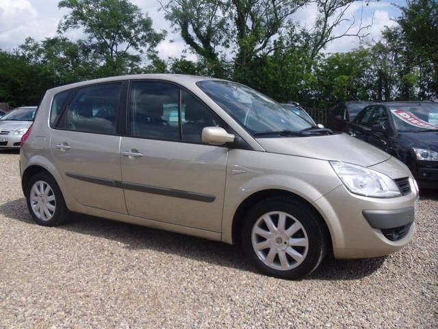 Used Renault Scenic 2007 Gold Estate Petrol Manual for Sale