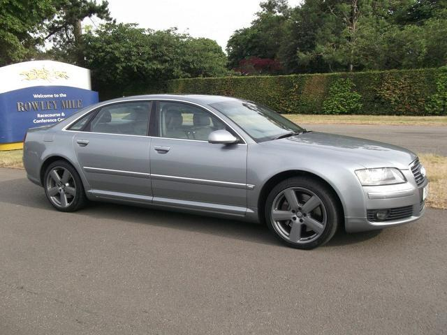 Used Audi A8 2007 Silver Saloon Diesel Automatic for Sale