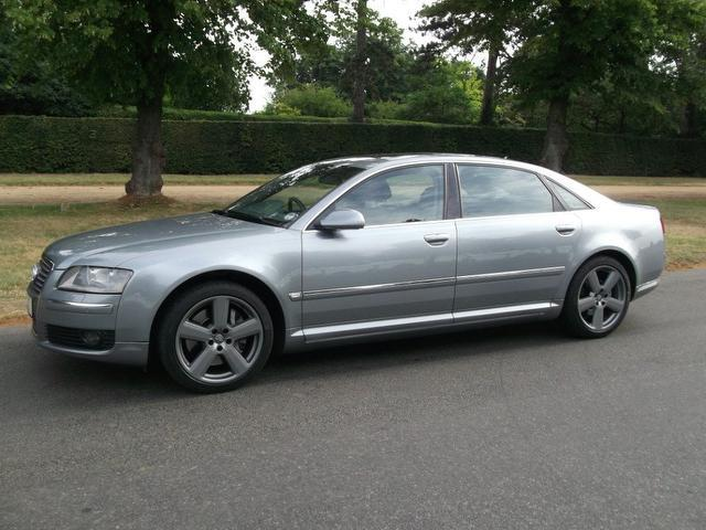 Used Audi A8 3.0 Tdi Quattro Se Saloon Silver 2007 Diesel for Sale in UK