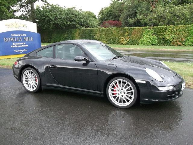 used porsche 911 car 2006 black petrol s 2 door 3 8 coupe. Black Bedroom Furniture Sets. Home Design Ideas