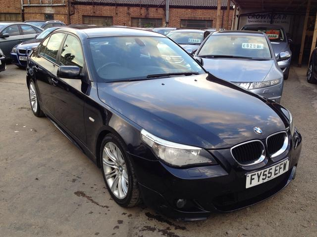 used 2005 bmw 5 series saloon 525d sport 4dr diesel for. Black Bedroom Furniture Sets. Home Design Ideas