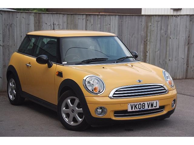 used mini hatch 2008 yellow colour petrol 1 4 one 3 door low rh autopazar co uk mini one manual pdf 2008 08 Mini Cooper