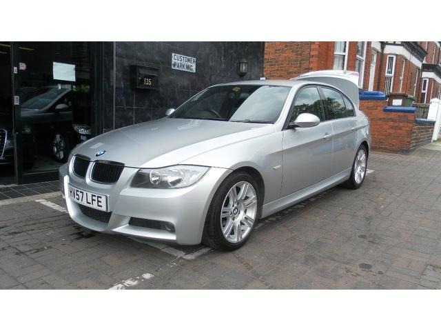 used bmw 3 series 2007 model 320d m sport diesel saloon silver for sale in stockport uk autopazar. Black Bedroom Furniture Sets. Home Design Ideas