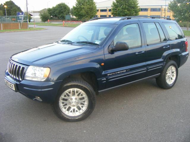 used jeep grand 2003 automatic diesel cherokee 2 7 crd limited blue for sale uk autopazar. Black Bedroom Furniture Sets. Home Design Ideas