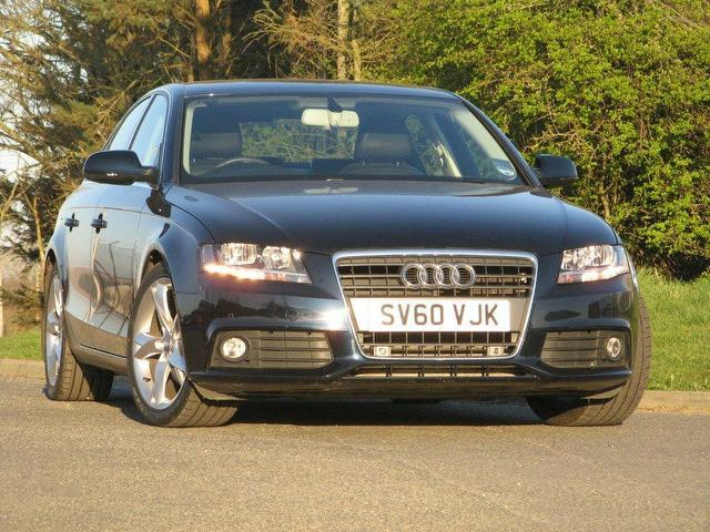 Used Audi A4 2.0 2010 Blue Saloon Diesel Manual for Sale