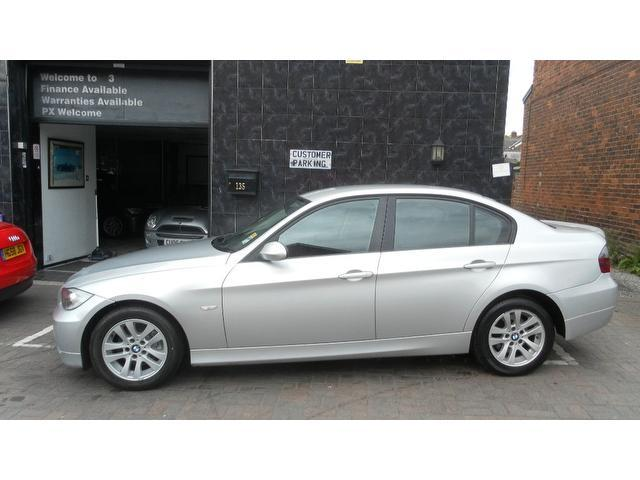 used bmw 3 series 2006 diesel 320d se 4dr saloon silver edition for sale in stockport uk autopazar. Black Bedroom Furniture Sets. Home Design Ideas