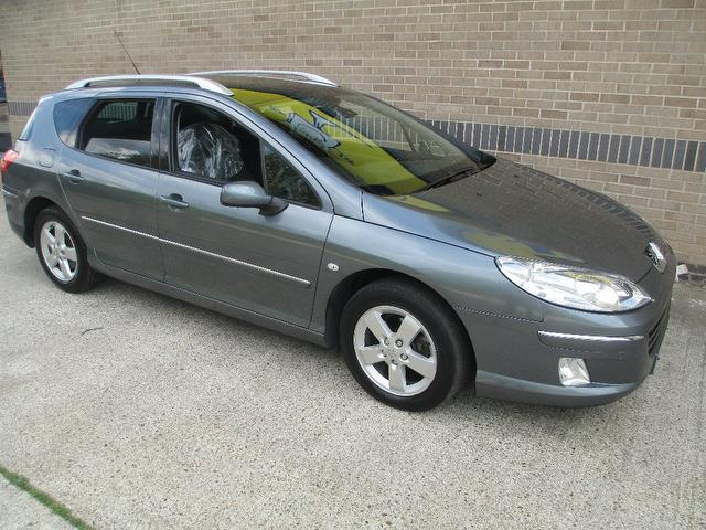Used Peugeot 407 2008 Grey Estate Diesel Manual for Sale