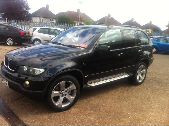 used 2005 bmw x5 4x4 black edition sport 5dr auto. Black Bedroom Furniture Sets. Home Design Ideas