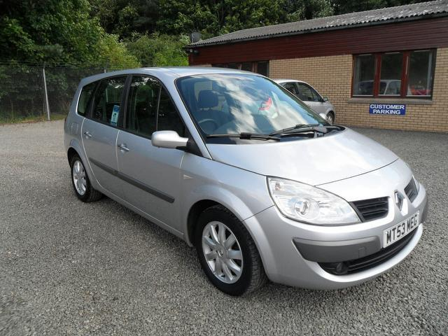 used renault grand 2007 model scenic 1 5 dci dynamique diesel estate silver for sale in. Black Bedroom Furniture Sets. Home Design Ideas