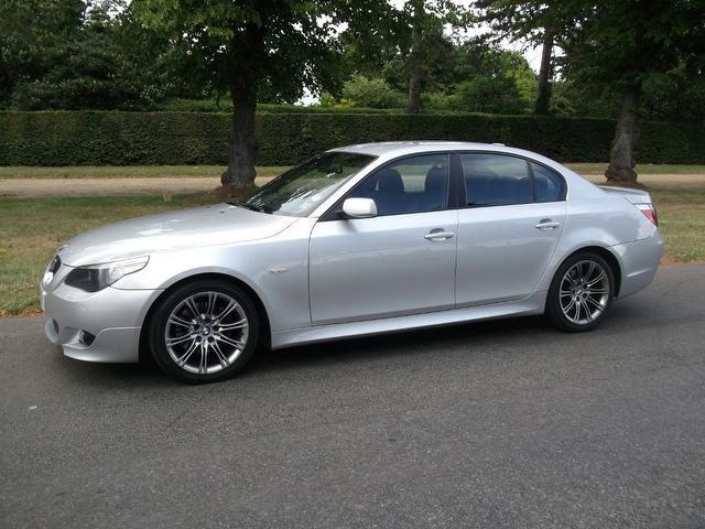 used bmw 5 series 2006 petrol 530i m sport saloon silver edition for sale in newmarket uk. Black Bedroom Furniture Sets. Home Design Ideas