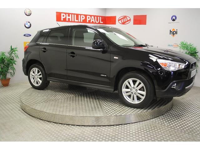 Used Mitsubishi Asx 2010 Black Paint Diesel 1.8 3 Cleartec 5dr Estate For Sale In Oswestry Uk ...