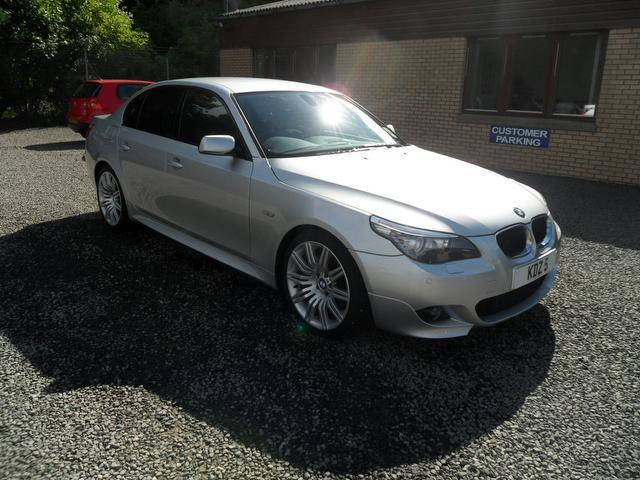 used bmw 5 series 2009 silver colour diesel 520d m sport saloon for sale in inveralmond place uk. Black Bedroom Furniture Sets. Home Design Ideas