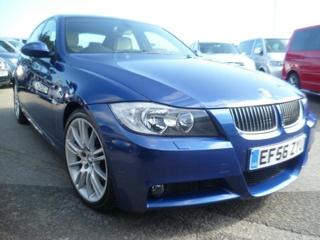 used bmw 3 series 2006 automatic petrol 330i m sport blue for sale uk autopazar. Black Bedroom Furniture Sets. Home Design Ideas