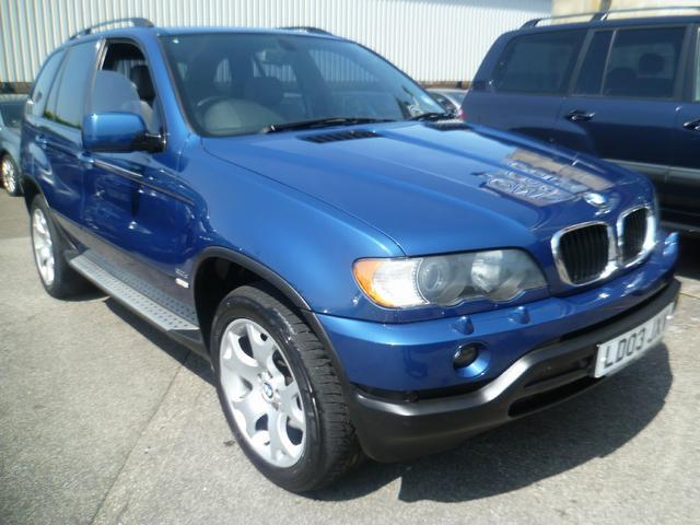 used 2003 bmw x5 4x4 blue edition sport 5dr auto diesel for sale in penzance uk autopazar. Black Bedroom Furniture Sets. Home Design Ideas