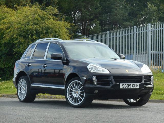 Used Porsche Cayenne 2009 Black 4x4 Diesel Automatic for Sale