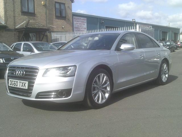 Used Audi A8 2010 Silver Saloon Diesel Automatic for Sale