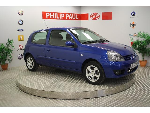 Used Renault Clio 2008 Blue Hatchback Petrol Manual for Sale