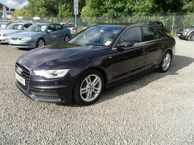 used blue audi a6 2012 diesel 2 0 tdi s line saloon in great condition for sale autopazar. Black Bedroom Furniture Sets. Home Design Ideas