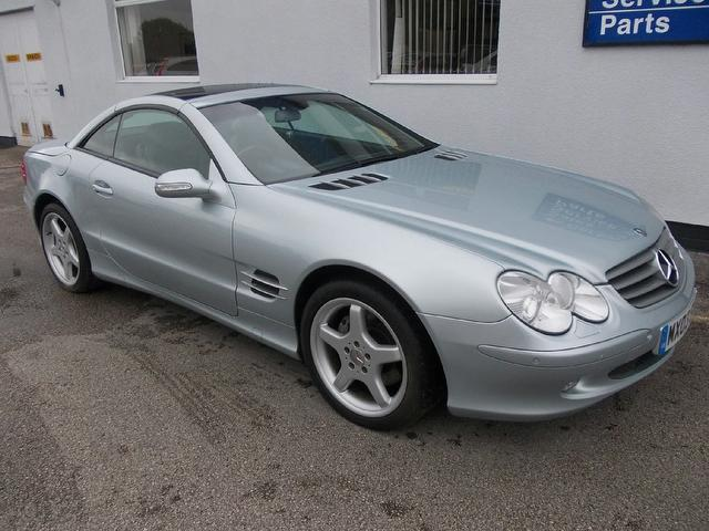 Used mercedes benz 2003 automatic petrol class sl 500 2 for Used convertible mercedes benz for sale
