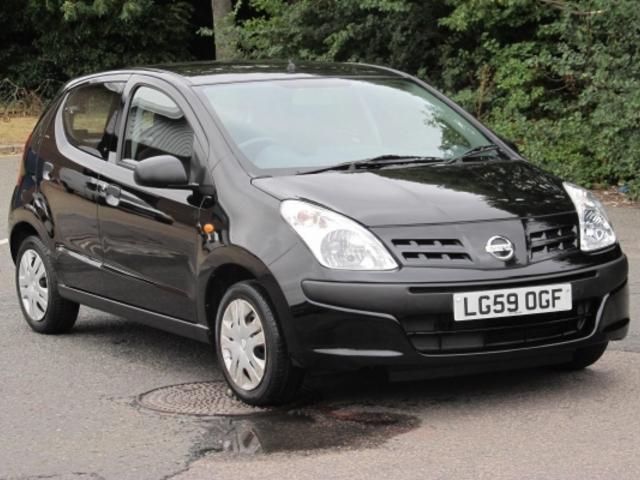 used nissan pixo 2009 model petrol black for sale in epsom uk autopazar. Black Bedroom Furniture Sets. Home Design Ideas