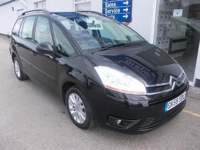 used citroen c4 2009 black paint diesel grand picasso 16v estate for sale in wirral uk. Black Bedroom Furniture Sets. Home Design Ideas