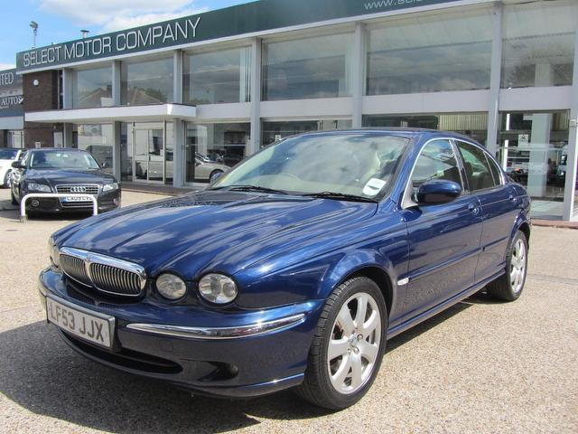 Used Jaguar X Type 2004 Blue Saloon Petrol Automatic For Sale