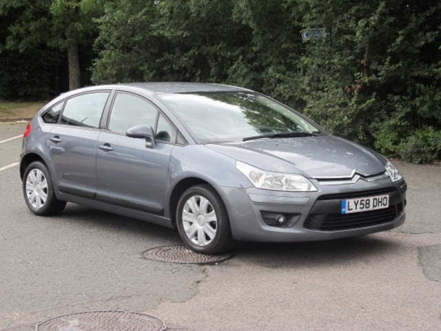 Used Grey Citroen C4 2009 Unleaded Excellent Condition For Sale ...
