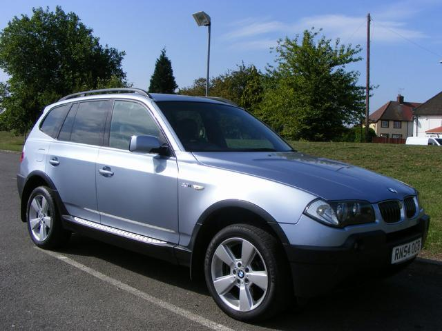 used bmw x3 2004 blue colour petrol sport 5 door auto. Black Bedroom Furniture Sets. Home Design Ideas