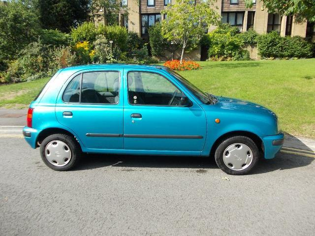 Used Nissan Micra 1.3 Gx 5 Door 1 Hatchback Blue 2000 Petrol for Sale in UK