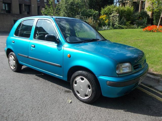 Used Nissan Micra 2000 Blue Hatchback Petrol Manual for Sale