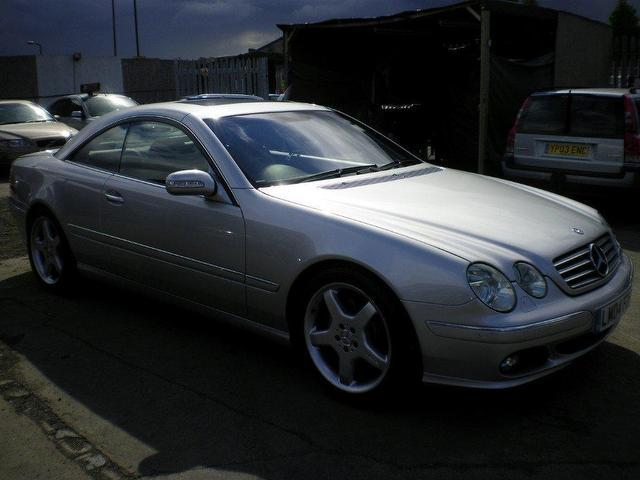 Used mercedes benz 2004 petrol 7 2dr auto 5 0 coupe for Mercedes benz for sale in london