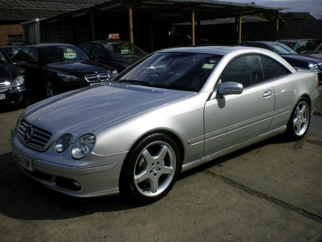 Used mercedes benz 2004 petrol 7 2dr auto 5 0 coupe for Mercedes benz 2 door coupe for sale