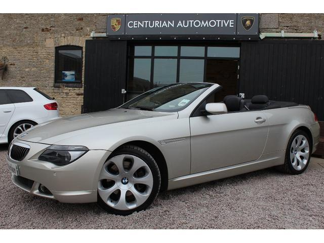 used bmw 6 series 2004 model 645ci 2dr auto petrol convertible silver for sale in kettering uk. Black Bedroom Furniture Sets. Home Design Ideas