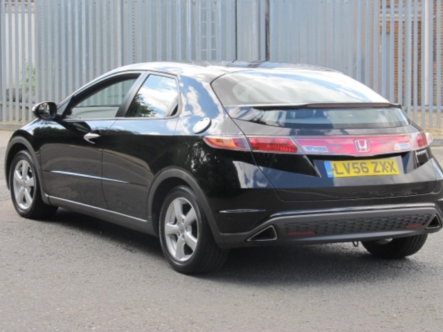 used honda civic 2006 automatic unleaded black for sale uk autopazar. Black Bedroom Furniture Sets. Home Design Ideas