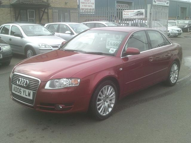 Used Audi A4 2006 Red Saloon Diesel Manual for Sale
