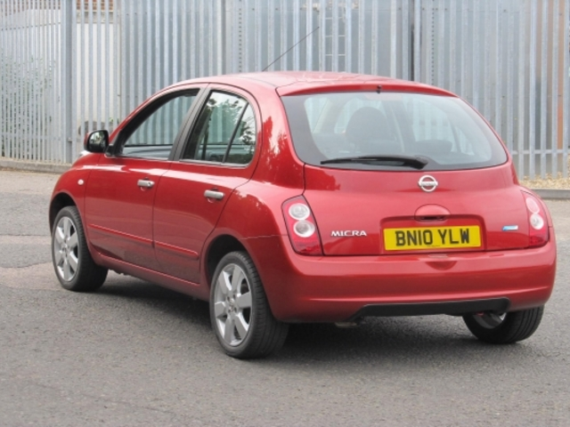 used nissan micra 2010 model petrol red for sale in epsom uk autopazar