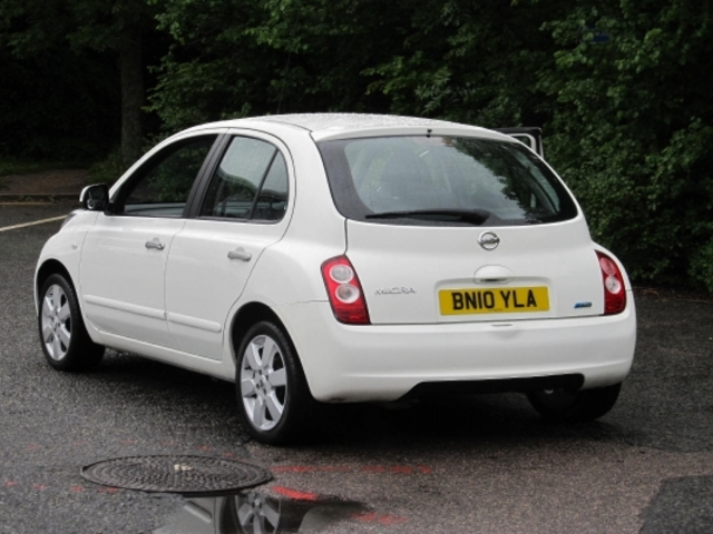 used nissan micra 2010 manual petrol white for sale uk autopazar. Black Bedroom Furniture Sets. Home Design Ideas