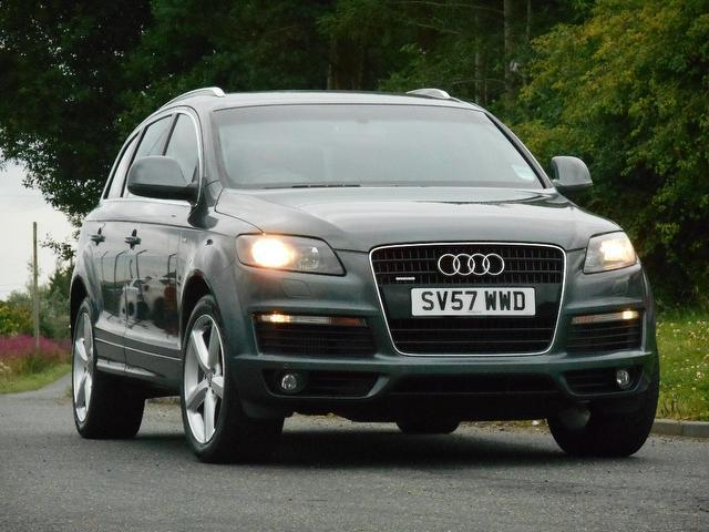 used audi q7 2007 diesel 3 0 tdi quattro s 4x4 grey with traction control for sale autopazar. Black Bedroom Furniture Sets. Home Design Ideas